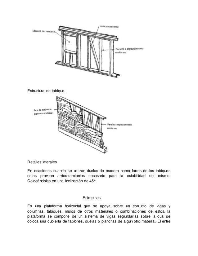 Usos de la madera en la construcci n - Duelas de madera ...