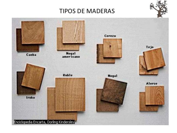 maderas para