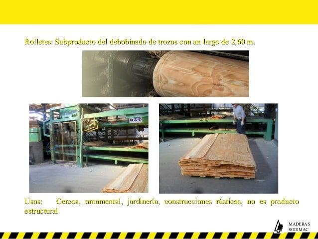 Maderas sodimac for Escalera madera sodimac