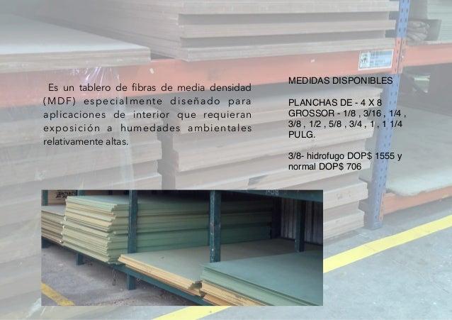 Madesol maderas - Tablero dm hidrofugo ...