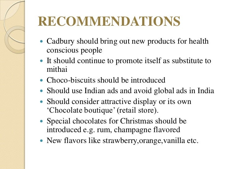 explain the recommendation of cadbury committee report on corporate governance