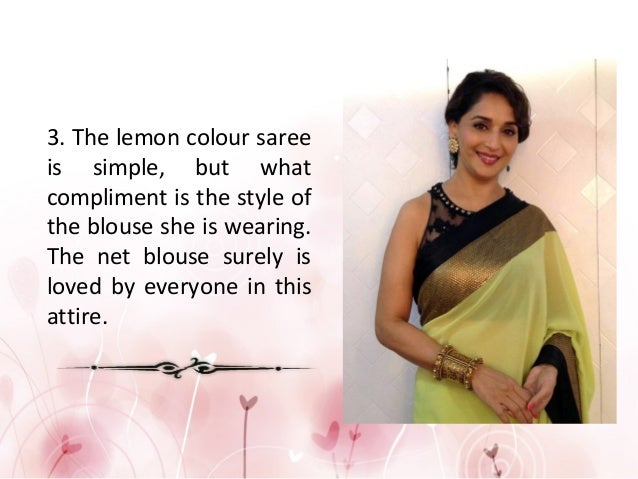 compliment for saree girl