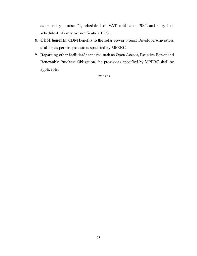 Electricity Act 2003 Madhya Pradesh