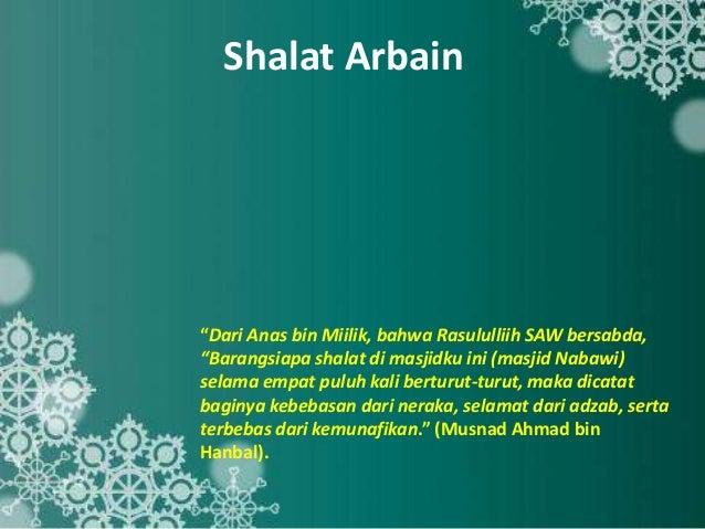 Image result for shalat arbain