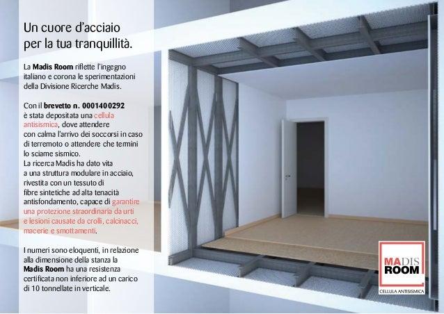 Madis Room: il brevetto e l'installazione Slide 2
