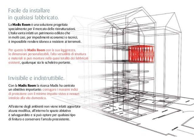 Madis Room: il brevetto e l'installazione Slide 3