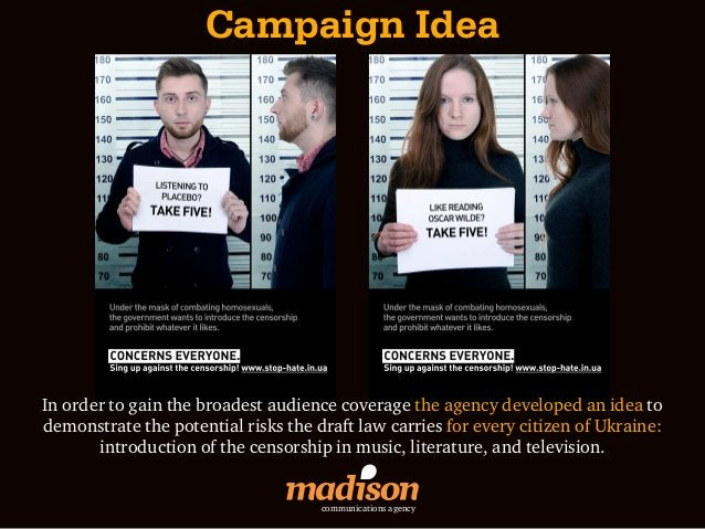 Campaign IdeaIn order to gain the broadest audience coverage the agency developed an idea todemonstrate the potential risk...
