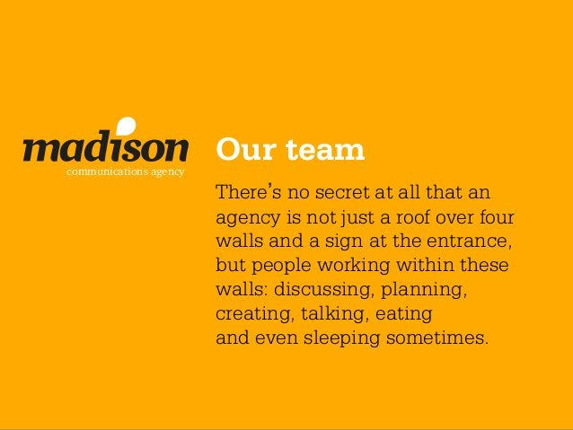 communications agency                        Our team                        There's no secret at all that an             ...