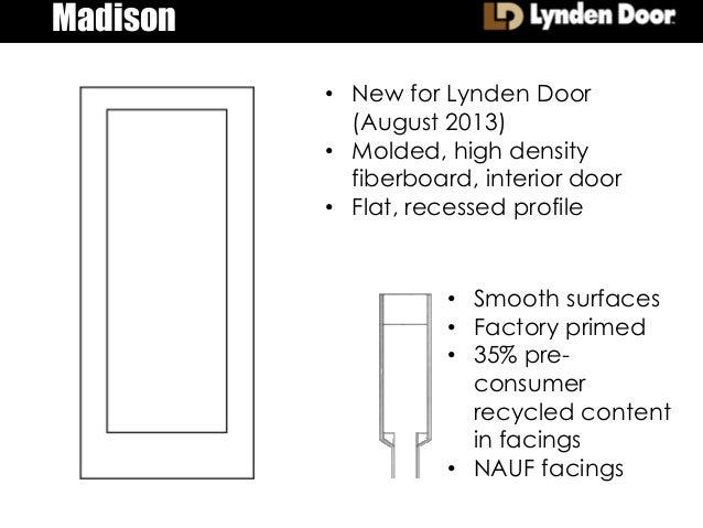 Madison ...  sc 1 st  SlideShare & Madison Molded Door Precis 8.20.13
