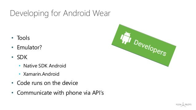 Developing for Wearables with Xamarin