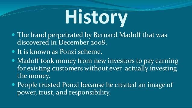 List of Ponzi schemes