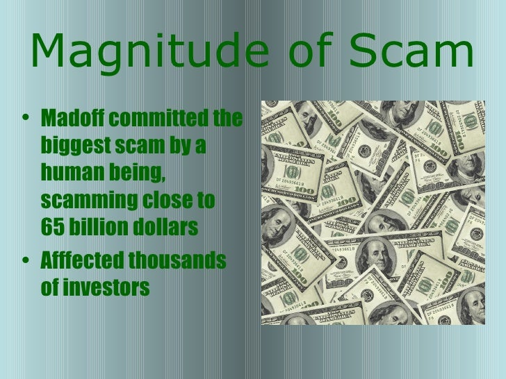 madoff investment scandal summary