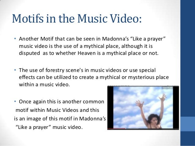 """like a prayer music video analysis The music video for madonna's, """"like a prayer, """" created major controversy in january 1989, when it was shown, due to the figurative language and images, as well as the religious and racy elements used in the video to create madonna's jarring grand presentational style."""