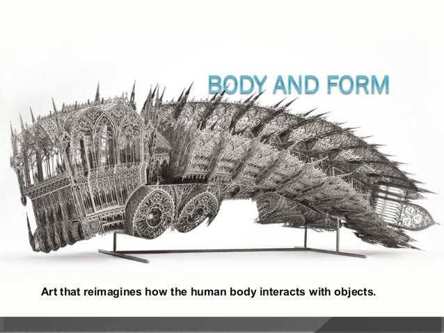 3d printin' style!Art that reimagines how the human body interacts with objects.
