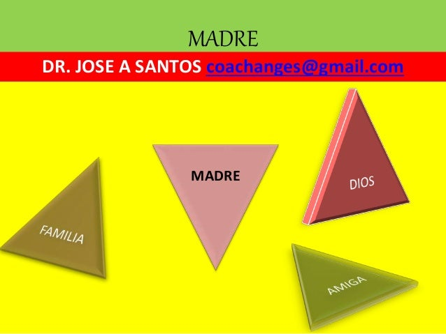 MADRE DR. JOSE A SANTOS coachanges@gmail.com MADRE