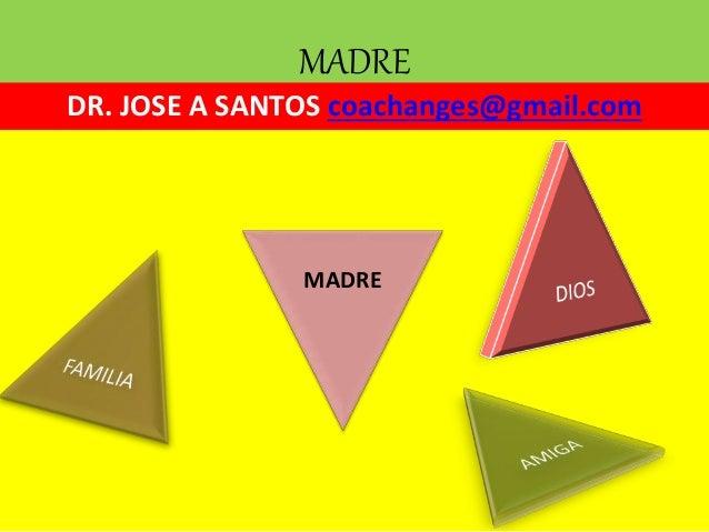 MADRE DR. JOSE A SANTOS coachanges@gmail.com MADRE