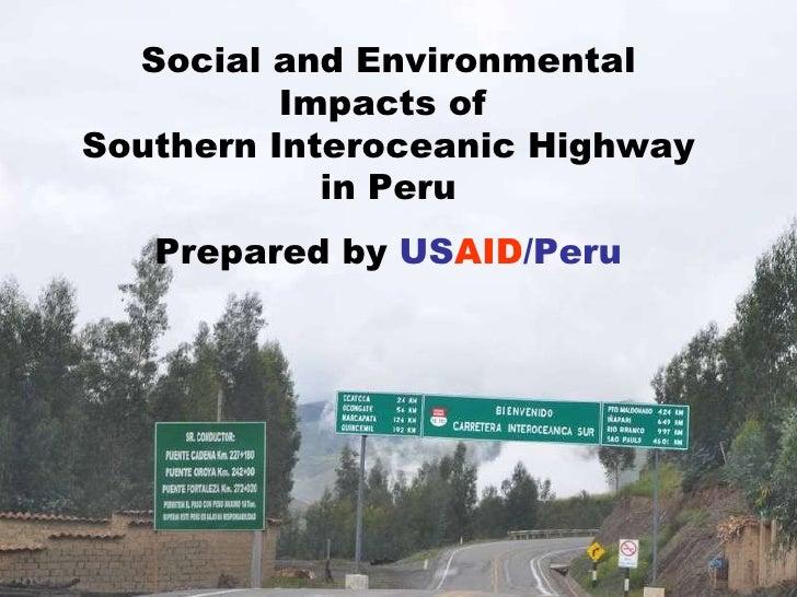 SOUTHERN INTEROCEANIC HIGHWAY:  CLIMATE CHANGE,  BIODIVERSITY AND CONFLICT <ul><li>Andrew Herscowitz </li></ul><ul><li>Act...