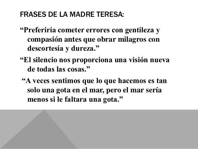 Madre Teresa De Calcuta Día De La Mujer