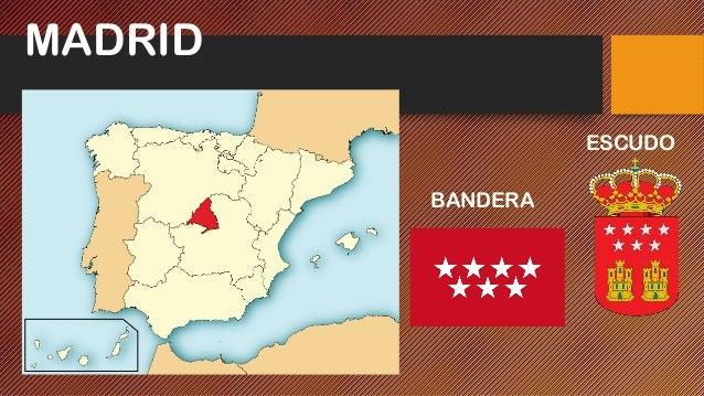 MADRID BANDERA ESCUDO