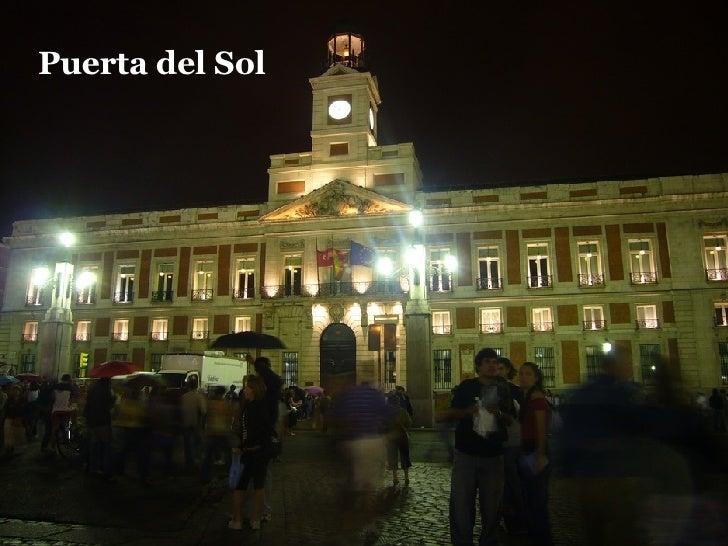 Madrid de noche for Centro oftalmologico puerta del sol