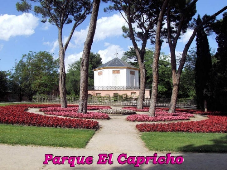 Madrid parque el capricho for Residencia el jardin madrid