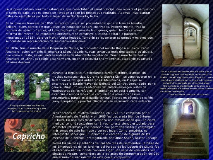 Madrid - Parque El Capricho Slide 3