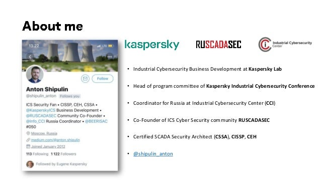 Experience with testing industrial cybersecurity solutions against real-world attack scenarios Slide 2