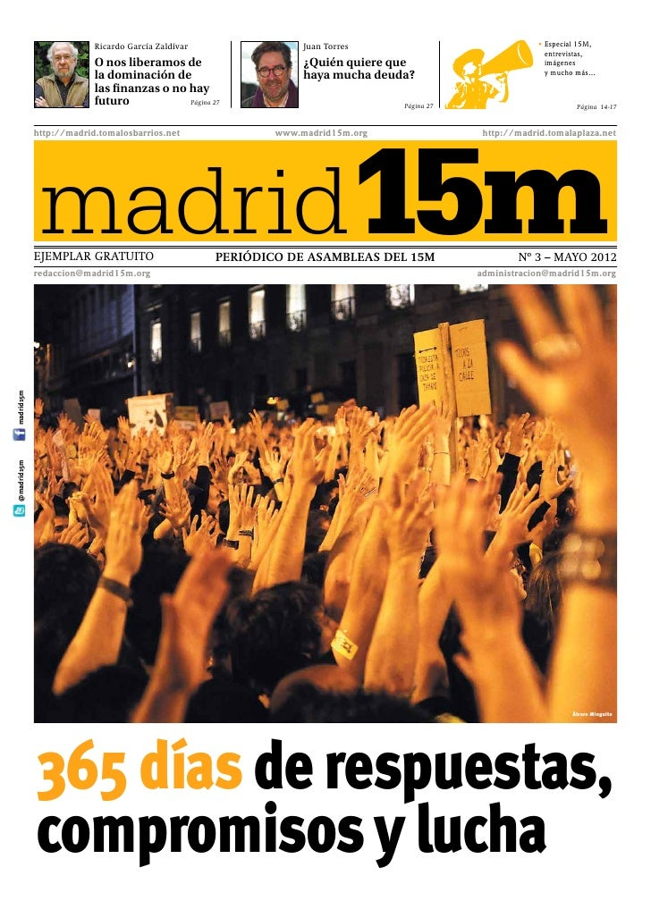 Ricardo García Zaldívar              Juan Torres                             •  special 15M,                              ...