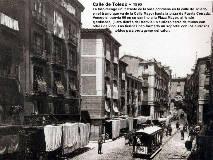 Fotos hist ricas de madrid 1857 1960 - Compro puertas antiguas ...
