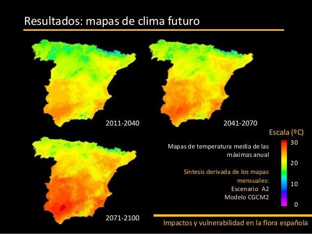 Impactos y vulnerabilidad de la flora espa ola ante el cambio clim ti - Oficina espanola de cambio climatico ...