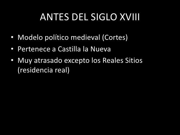 Madrid En El Siglo XVIII Slide 2