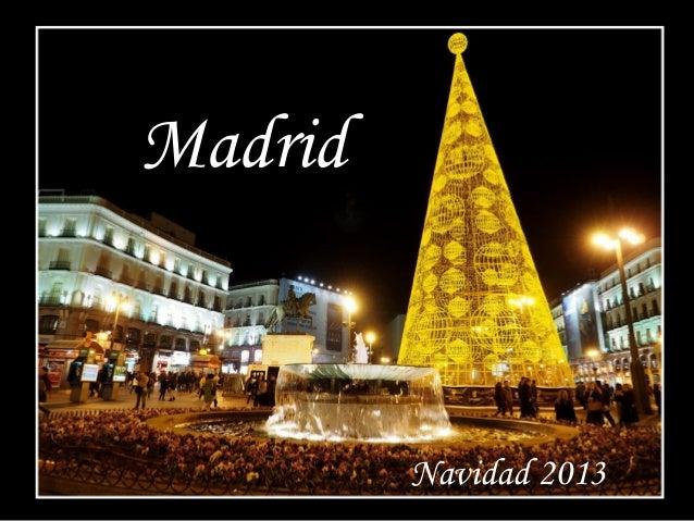 Madrid  Navidad 2013