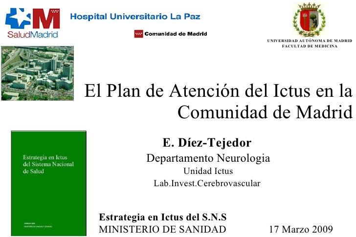 Plan de atenci n del ictus comunidad de madrid for Correo comunidad de madrid