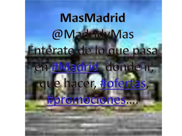 https://www.facebook.com/carlos.dominguezmartin.79  https://twitter.com/MadridyMas https://www.facebook.com/pages/Masmadri...