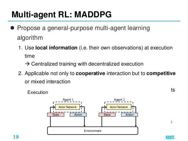 Deep Multi-agent Reinforcement Learning