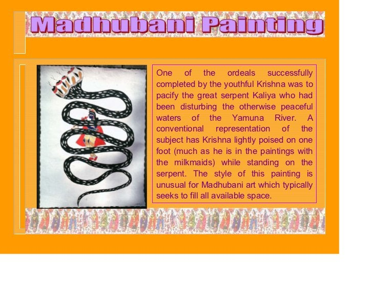 One of the ordeals successfullycompleted by the youthful Krishna was topacify the great serpent Kaliya who hadbeen disturb...