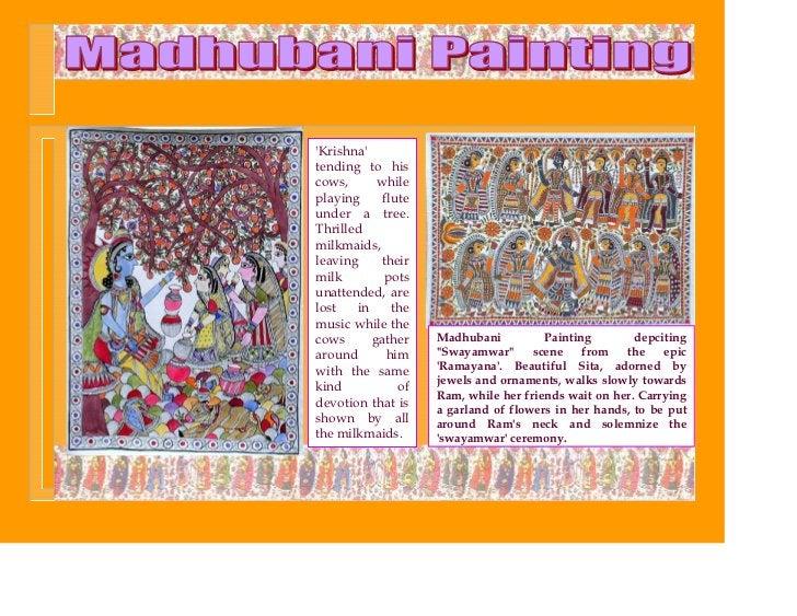 Krishnatending to hiscows,      whileplaying     fluteunder a tree.Thrilledmilkmaids,leaving    theirmilk        potsunatt...