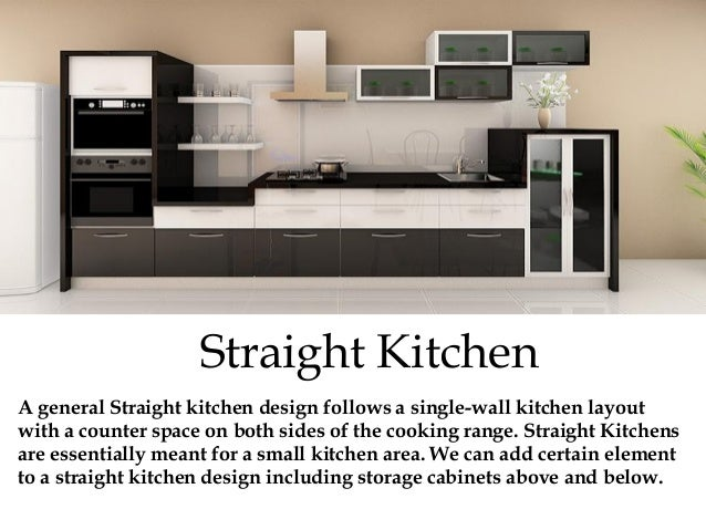 Small Straight Kitchen Design. 5  Tips To Design A Sophisticated Modular Kitchen