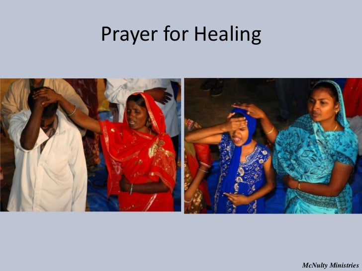 Prayer for Healing McNulty Ministries