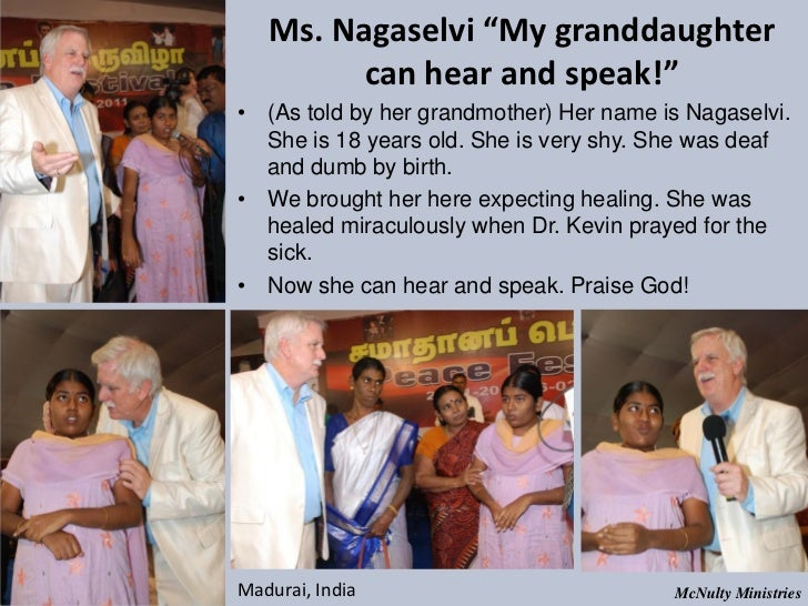 "Ms. Nagaselvi ""My granddaughter can hear and speak!""• (As told by her grandmother) Her name is Nagaselvi. She is ..."