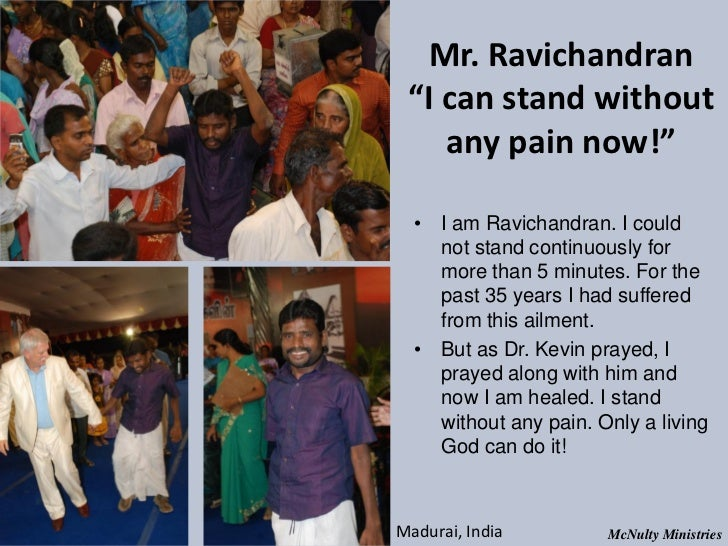 "Mr. Ravichandran ""I can stand without any pain now!"" • I am Ravichandran. I could not stand continuously for mor..."