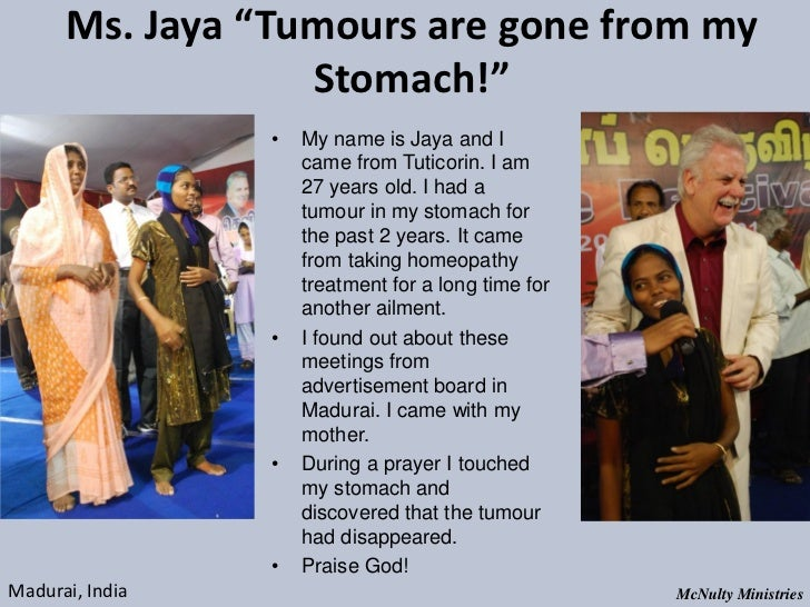 "Ms. Jaya ""Tumours are gone from my Stomach!"" • My name is Jaya and I ..."