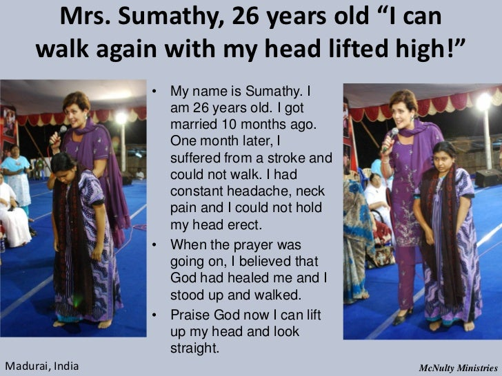 "Mrs. Sumathy, 26 years old ""I can walk again with my head lifted high!"" • My name is Sumathy. I ..."