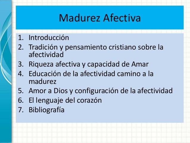 MADUREZ AFECTIVA EBOOK