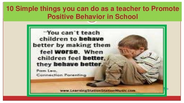child behavior better or worse