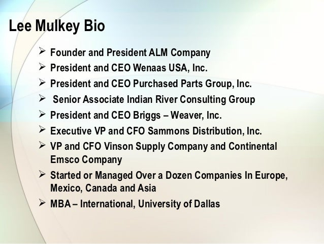 Continental Building Systems President