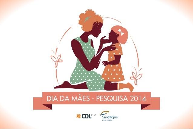 Infográfico pesquisa Dia das Mães