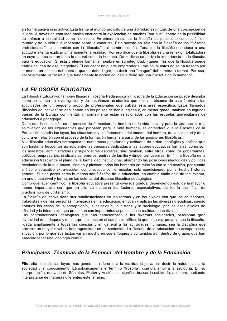 MaestríA 10 PsicologíA Del Ap. Filosofia Educacion Slide 2
