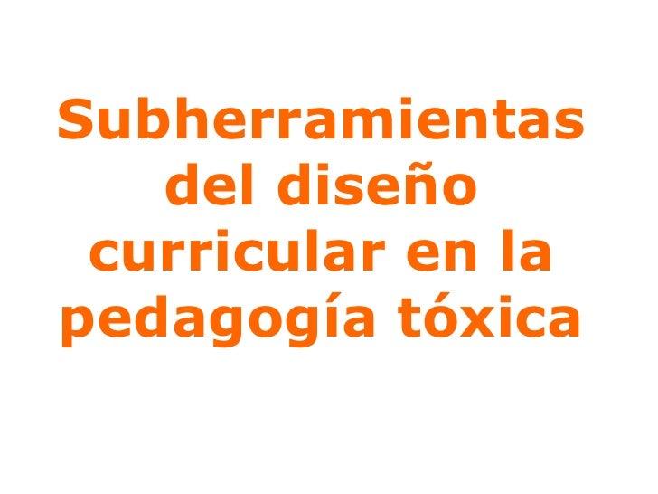 MaestríA CurríCulum Elcurriculumocultoherramientasinvisible Slide 3