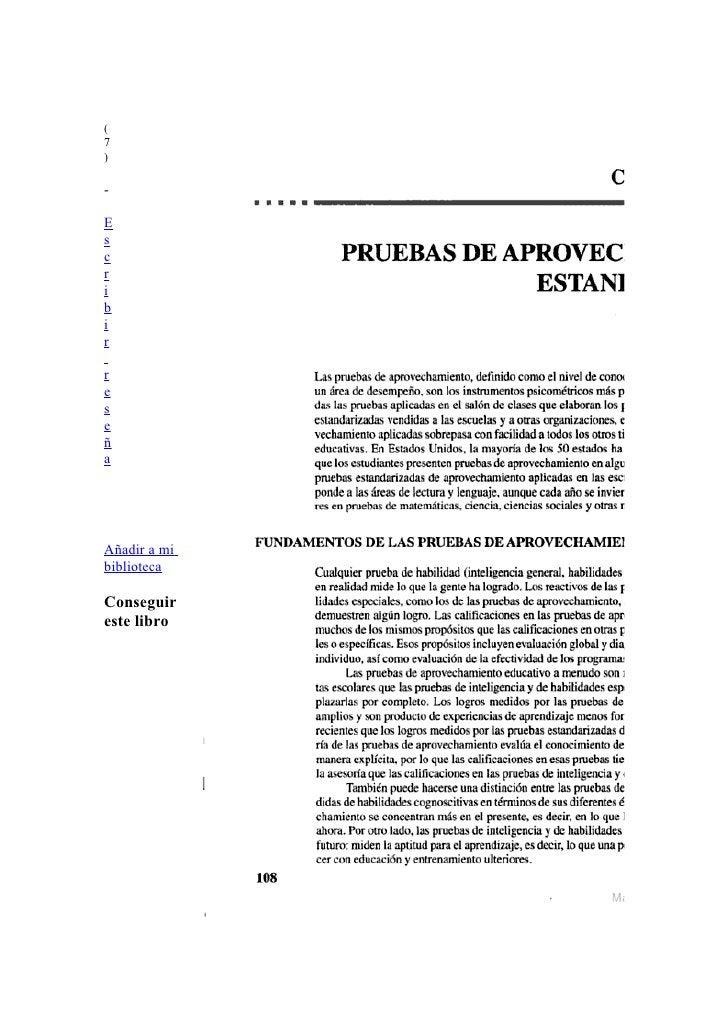 ( 7 )  -  E s c r i b i r  r e s e ñ a     Añadir a mi biblioteca  Conseguir este libro